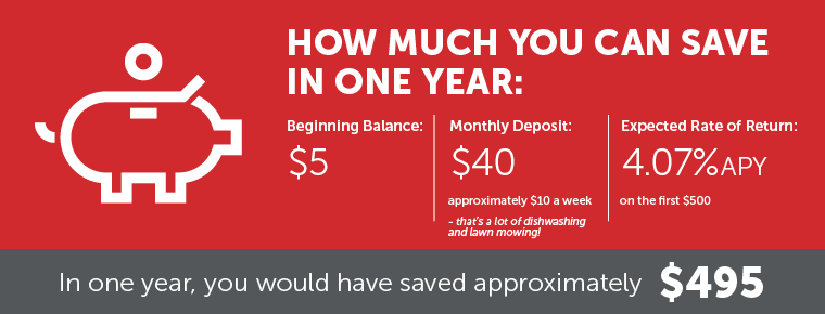 Youth Banking: How much you can save