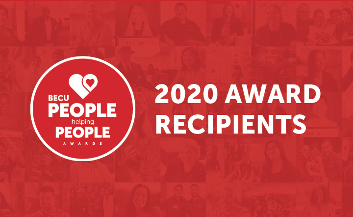 2020 People Helping People Award Recipients