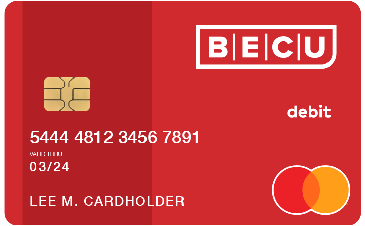 BECU Debit Card